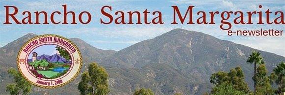 Rancho Santa Margarita Logo and mountains
