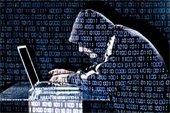 Criminal on computer