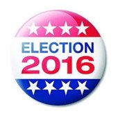 2016 Election button