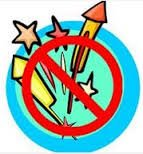 No fireworks graphic