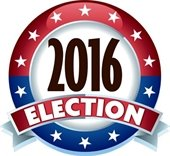 2016 Election graphic