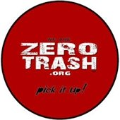 zero trash logo