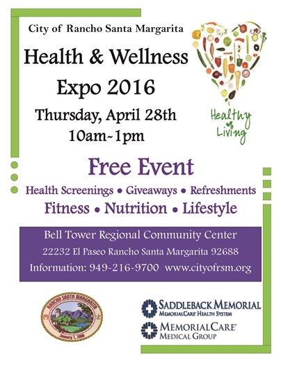 Health expo flyer