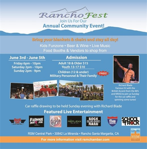 Chamber of Commerce RanchoFest Flyer