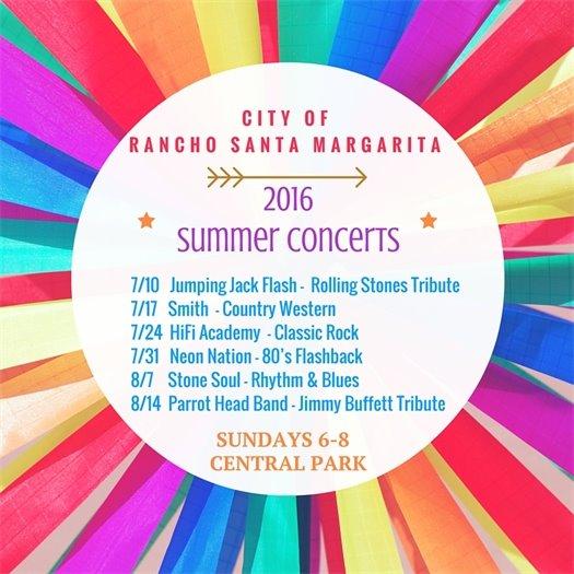 Summer Concert lineup
