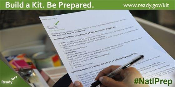 FEMA Preparedness logo