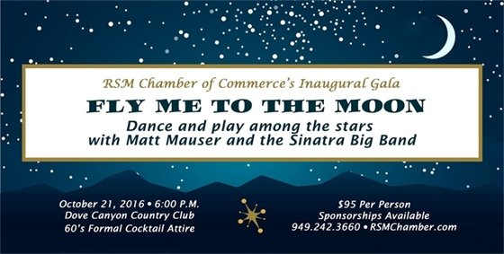 RSM Chamber of Commerce Gala flyer