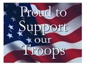 Support our troops graphic