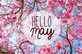 Hello May graphic