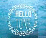 Hello June graphic
