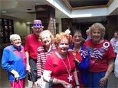 Patriotic seniors