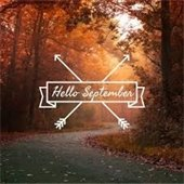 Hello September graphic