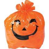 Halloween trash bag