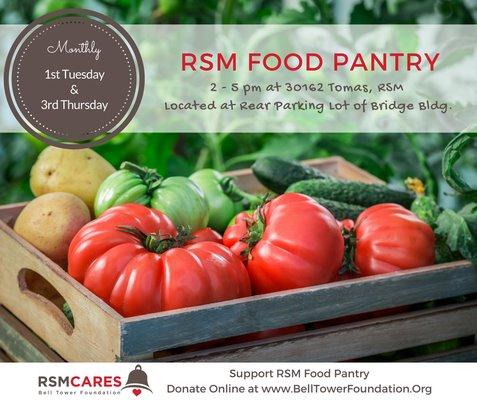 RSM Food Pantry graphic