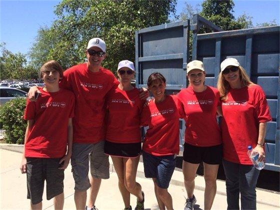 ZeroTrash volunteers