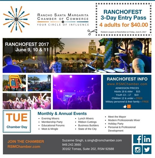 RanchoFest ad