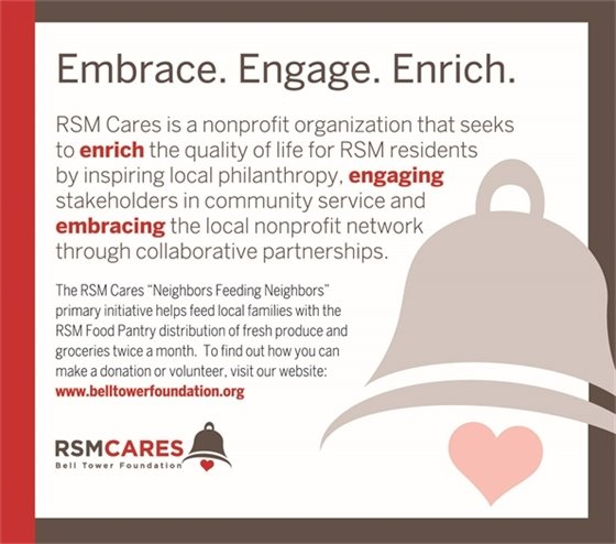RSM Cares ad