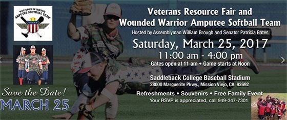 Veterans Resource Fair and Wounded Warrior Softball Team