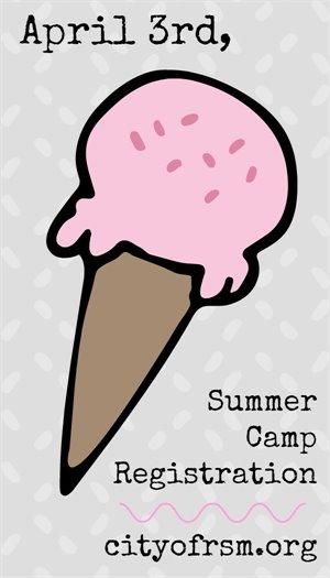Summer camp registration graphic