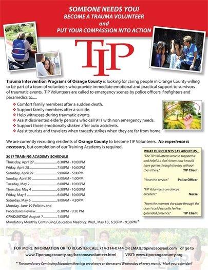 TIP Flyer