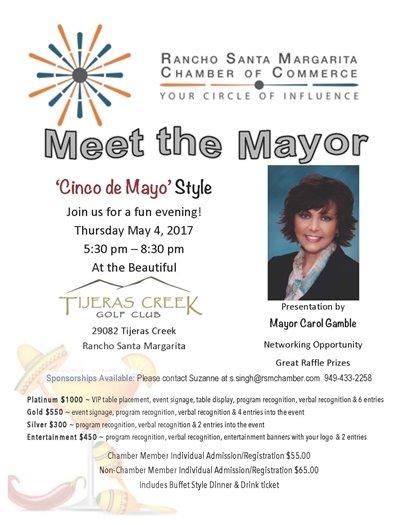 RSM Chamber Meet the Mayor event