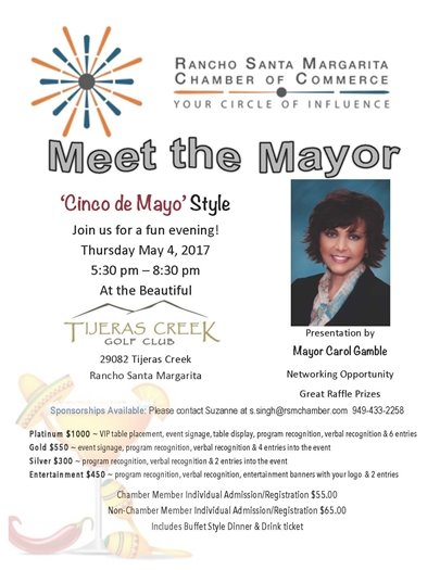 Meet the Mayor Flyer
