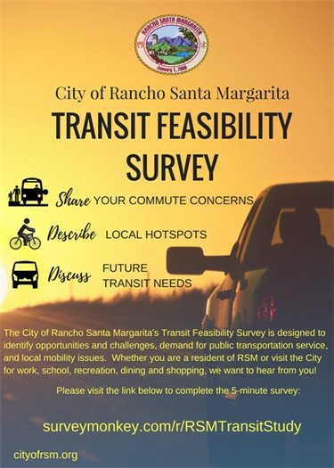 Transit survey flyer
