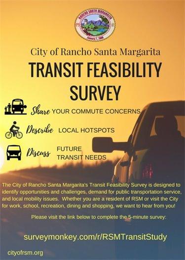 Transit survey flyer