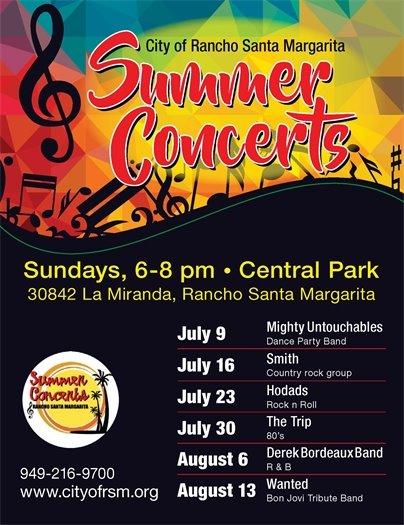 RSM Summer Concert Flyer