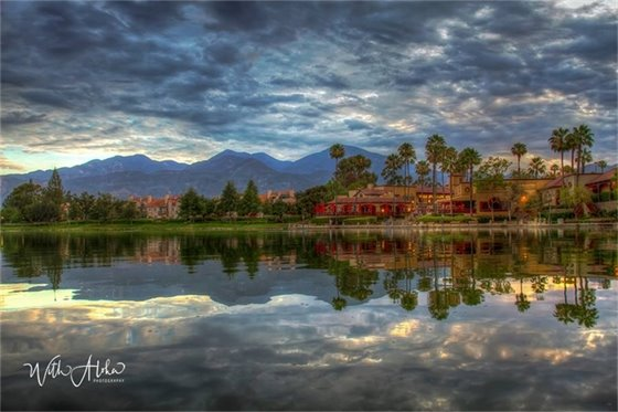 2017 Monsoon Sunrise over RSM Lake - Pam Conrad