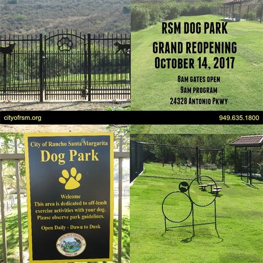 Dog Park announcement