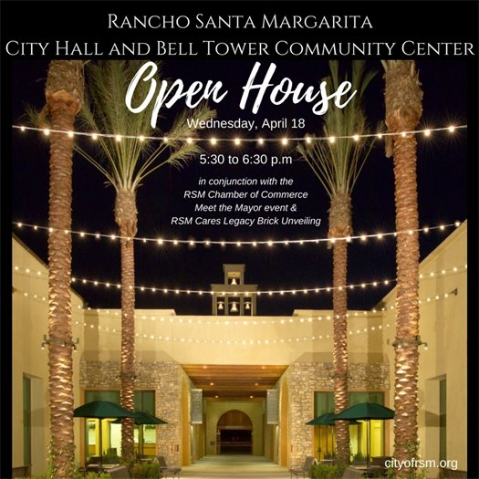 City Hall Open House graphic