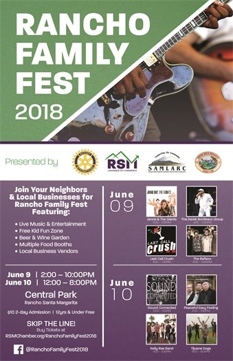 Rancho Family Fest poster