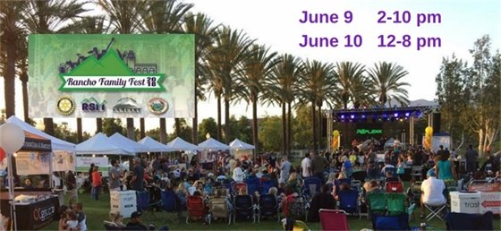 Rancho Family Fest ad